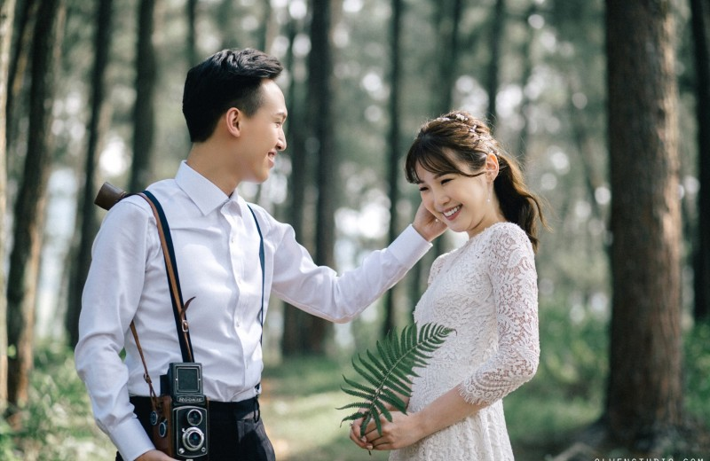 The prewedding of Eri Law & Matthew by Nguyen Nho Toan