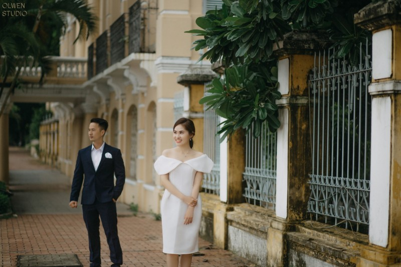The prewedding of Thao Le & Dinh Luan by Nguyen Nho Toan