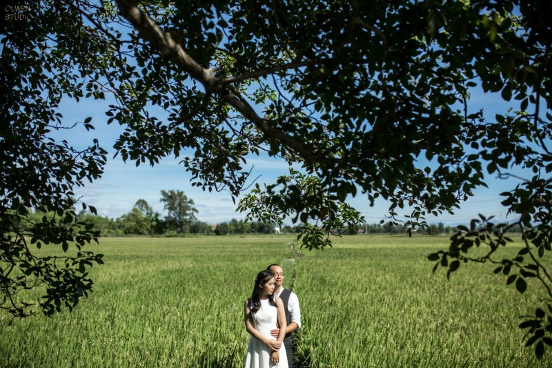 The prewedding of Anh Tu & Phuong Anh by Quoc Tran