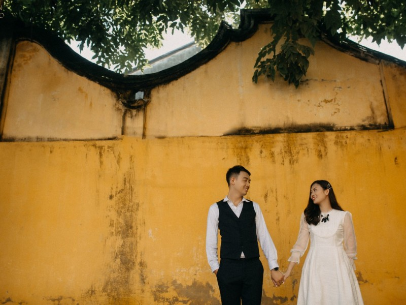 The prewedding of Hoang Hai & Anh Thu by Quoc Tran