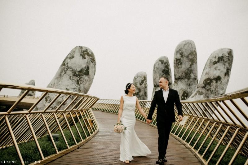 Da Nang | The prewedding of Hana & Mikhail | By Nguyen Nho Toan