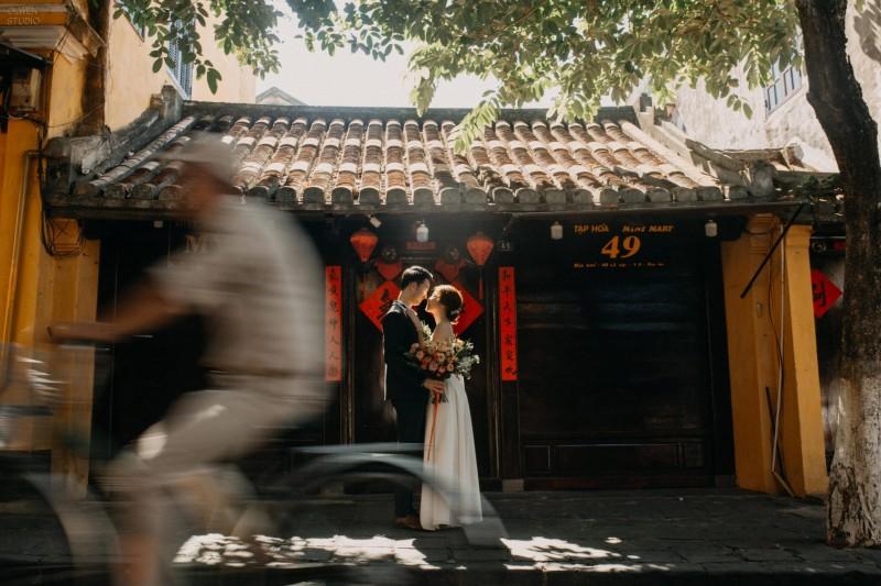 Da Nang | The prewedding of Trieu & Uyen | By Quoc Tran