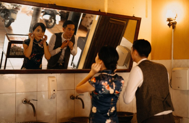 Da Nang | The prewedding of Ting & Sai Ho | By Nguyen Nho Toan