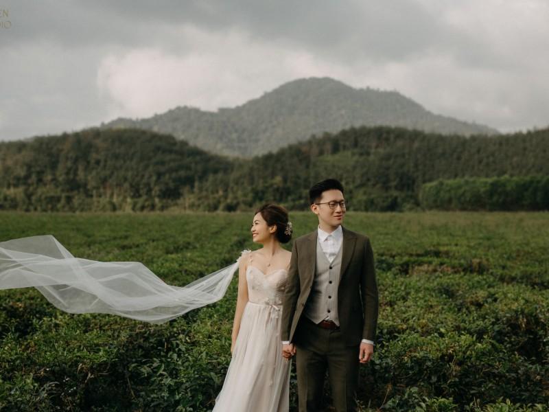 Da Nang | The prewedding of Eugenea & Elvis | by Nguyen Nho Toan