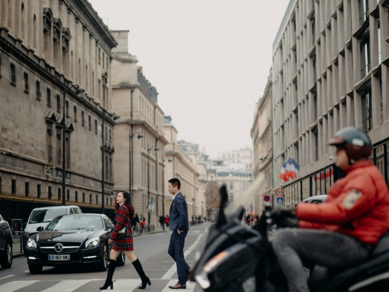 Paris | The couple of Vinh & Thao | by Nguyen Nho Toan