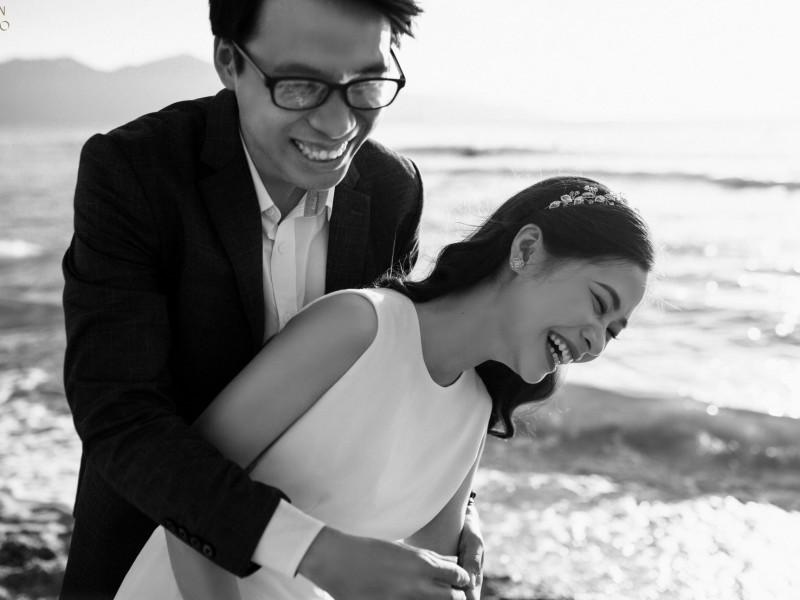 Da Nang | The prewedding of Nguyen & Bong | By Quoc Tran